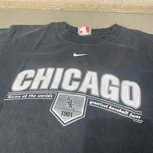 Nike MLB Shirts - Chicago white Sox Nike MLB double sided shirt